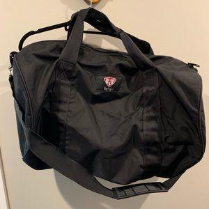 Gently used fitmark black gym bag